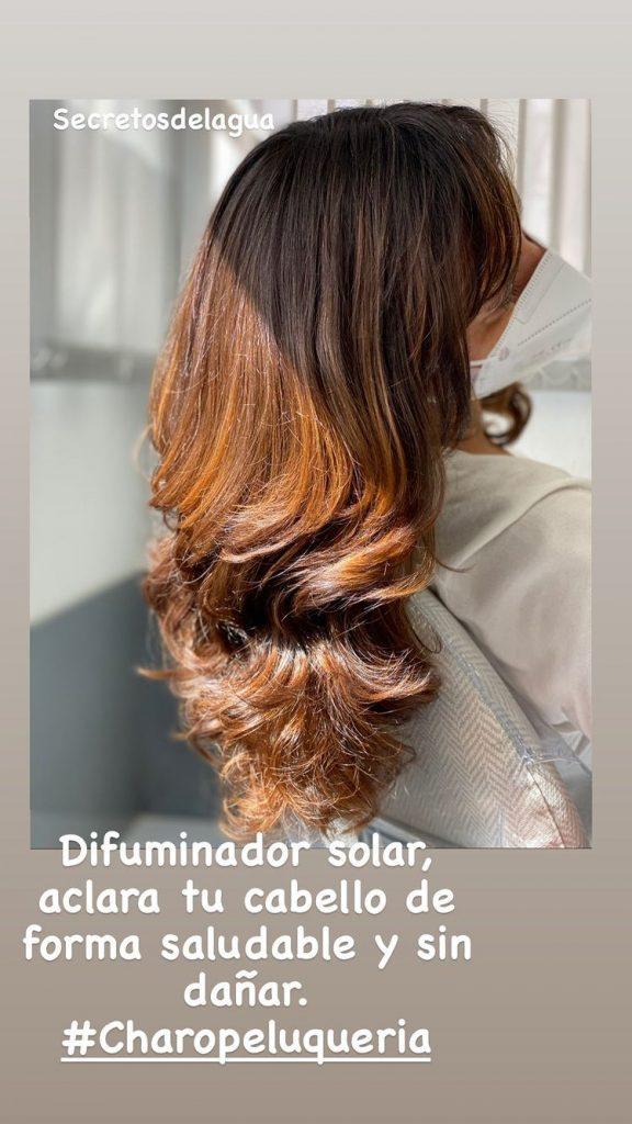 charopeluqueria Difuminador Solar aclara tu cabello